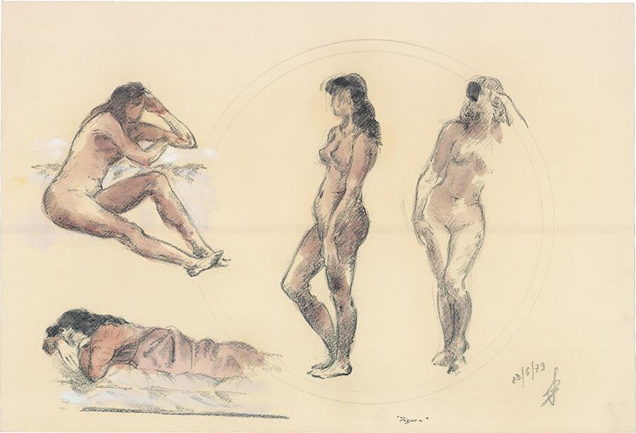 Figure, 1979