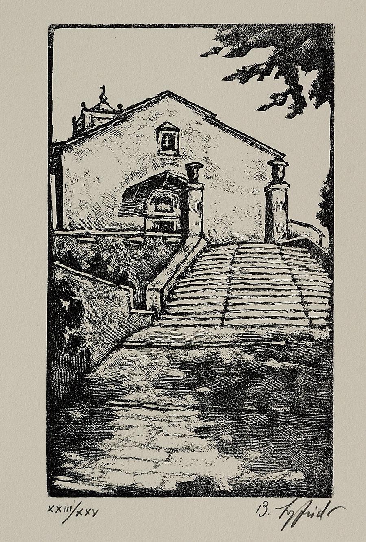 Chiesa di Calamecca, 1990