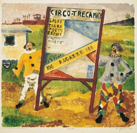 Cartellone del circo, 1950