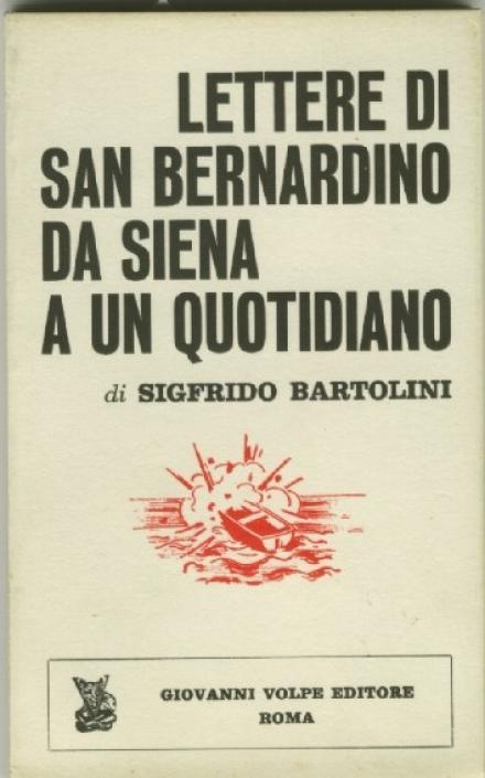 Lettere di San Bernardino da Siena a un quotidiano